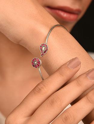 Tribal Silver Takkar Bracelet
