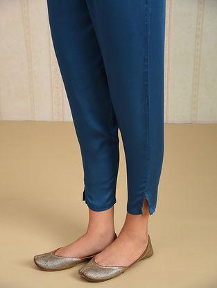 Indigo Elasticated Waist Modal Pants