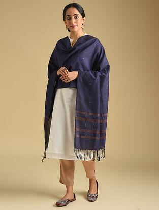 Purple Handwoven Tangaliya Cotton Dupatta