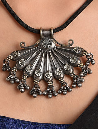 Tribal Silver Pendant
