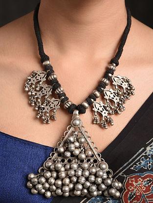 Black Vintage Silver Necklace