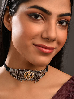 Dual Tone Tribal Necklace