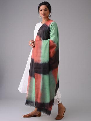 Multicolored Tie-Dyed Cotton Dupatta
