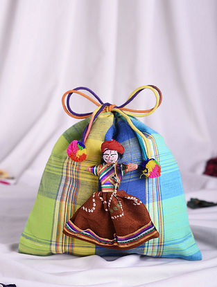 Multicolored Handmade Cotton Potli