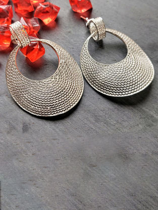 Filigree Silver Earrings