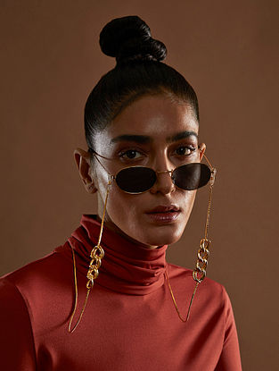 Gold Plated Handcrafted Eyewear Sling
