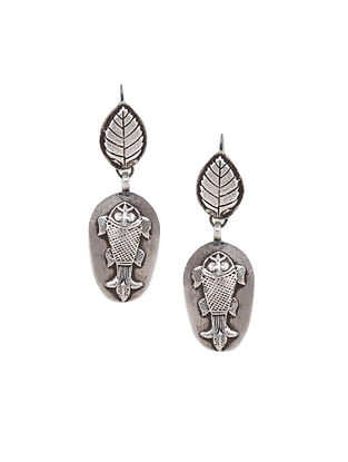 Tribal Sterling Silver Earrings