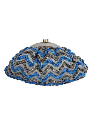 Blue Olive Handcrafted Clutch