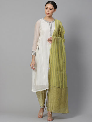 Fabian  Chanderi Kurta with Slip (Set of 2)