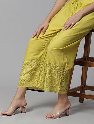Sarika  Cotton Silk Pyjamas