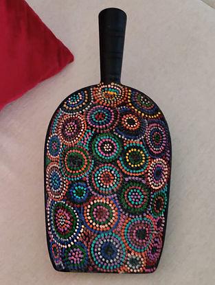 Multicolor Handcrafted Melamine Scoop (12in x 6in)