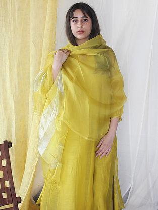 Yellow Ochre Kurta with Salwar and Dupatta (Set of 3)