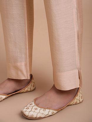 Light Peach Chanderi Pants
