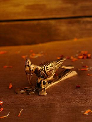 Brass Bird Door Knocker (L - 5in, W - 1.5in, H - 2.3in)