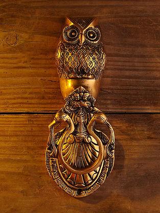 Brass Owl Door Knocker (L - 9in, W - 3.5in)