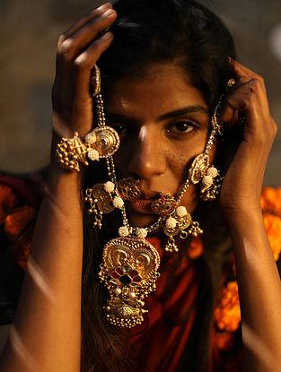 Aroopa-Vintage Silver Necklace