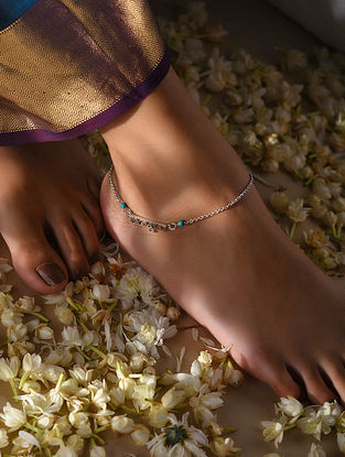 Classic Silver Anklet