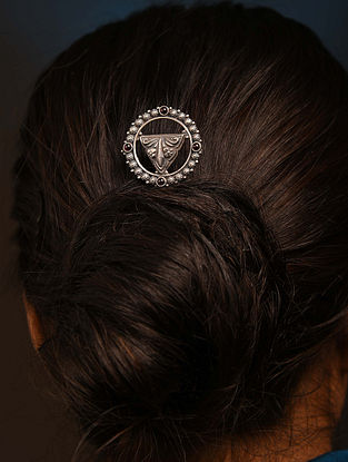 Tribal Silver Hair Pin