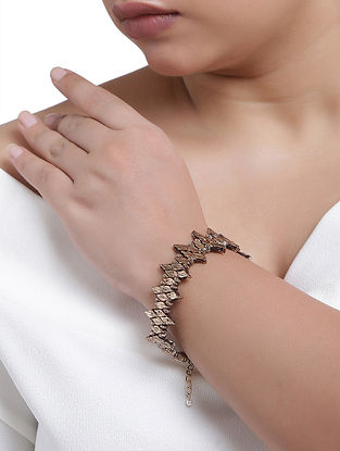 Gold Tone Handcrafted Bracelet