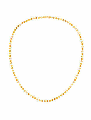 Gold Plated Sterling Silver Chain