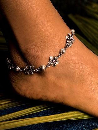 Tribal Silver Anklet