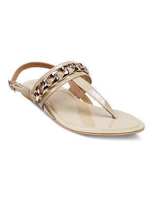 Ivory Handcrafted Sandals