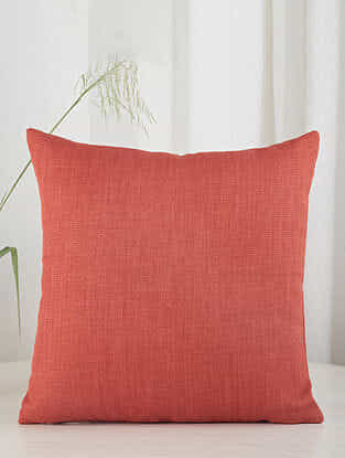 Solid Red Cushion Cover (20in x 20in)