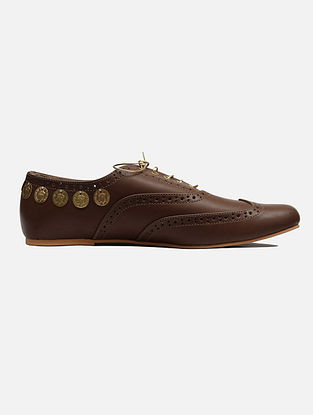 Brown Handcrafted Leather Shoes
