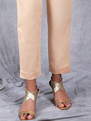 Malhar Cream Mul Pants