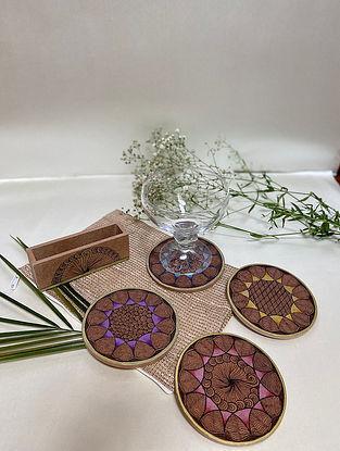 Brown Signature Plus Coasters (Set Of 4)