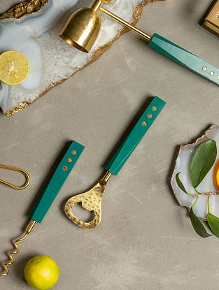 Gold Firdaus Bar Tools (Set Of 3)