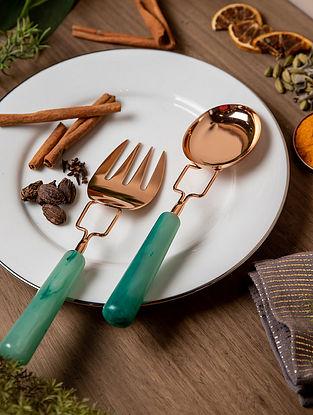 Copper Eden Salad Serving (Set Of 2)