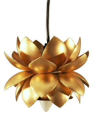 Sarower Iron Hanging Gold Lamp (Dia-5.5in,H-6.5in)