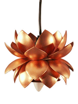 Sarower Iron Hanging Copper Lamp (Dia-5.5in,H-6.5in)