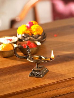 Ganesha Brass Lamp (L-3.75in, W-2in, H-2.75in)