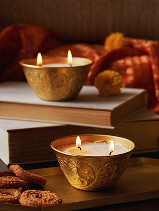 Noor Brass Candle