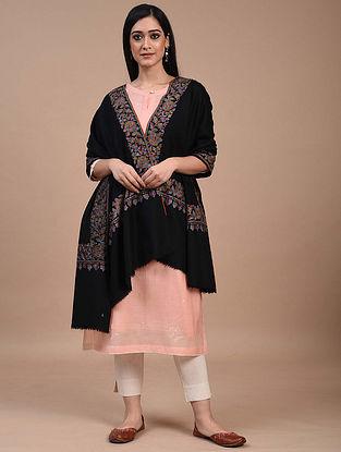 Black Paper Mache Pashmina Shawl