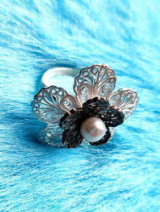Filigree Silver Ring