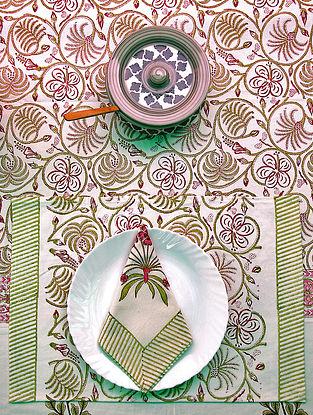 Maroon Mash Dinning Cover Set