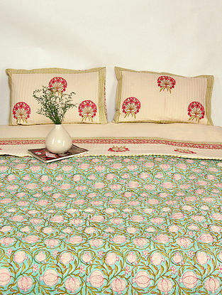Plume Solace Quilted Bed Cover Set