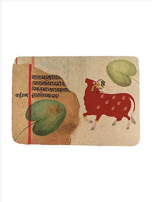 An Evening in Mathura Digital Media Mix Art on Paper