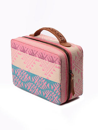 Multicolored Handcrafted Genuine Leather Hand Bag