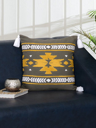 Cairo Sunset Cushion Cover (L- 16in, W- 16in)