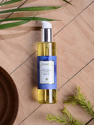 Juniper, Grapefruit & Cypress Detoxifying Body Oil - 200 ml