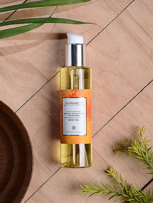 Orange, Eucalyptus & Peppermint Invigorating Body Oil - 200 ml