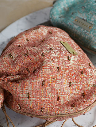 Pink Handcrafted Potli