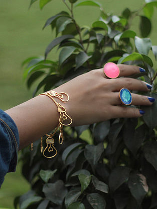 Classic Gold-plated Bulb Bracelet