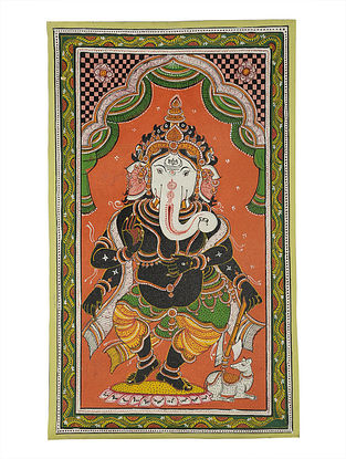 Ganesha Pattachitra on Canvas 22in x 13.2in