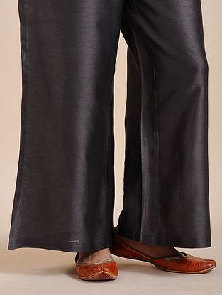 Grey Chanderi Pants