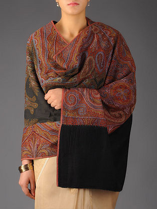 French Paris Paisley 1860s All-over Jacquard Loom Woven Shawl by Aditi Collection